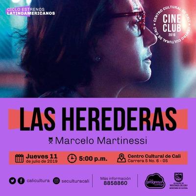 """""""Ciclo Estrenos Latinoamericanos Película: Las herederas de Marcelo Martinessi Año: 2018 Duración: 97 minutos Paraguay"""" - Sala 218 – Centro Cultural de Cali"""