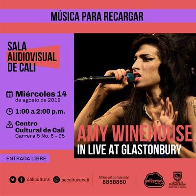 Música para recargar Amy Winehouse  - Centro Cultural de Cali, Carrera 5 No. 6-05 - Salón 218