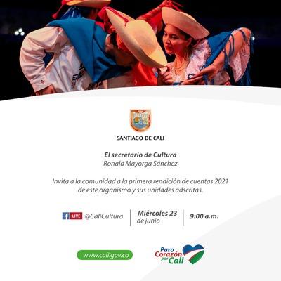 Primera Rendición de Cuentas de la Secretaría de Cultura 2021