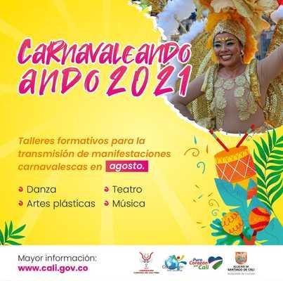 'Carnavaleando ando': música, danza, teatro y artes plásticas