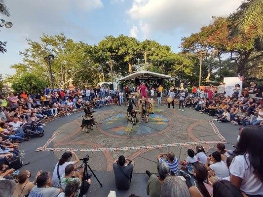 La cultura y el arte se tomaron este fin de semana la Loma de la Cruz