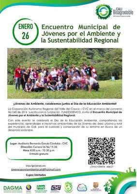 Encuentro Municipal de Jóvenes por el Ambiente y la Sustentabilidad Regional