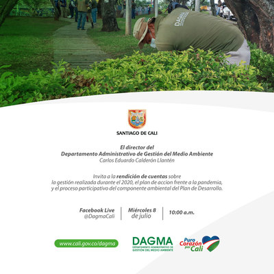 Rendición de cuentas del DAGMA