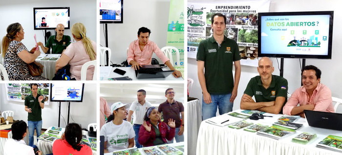 Los caleños aprendieron mucho más sobre Datos abiertos en la Feria ambiental CaliBio