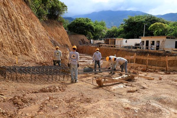 A paso firme avanza la construcción del Centro de Bienestar Animal