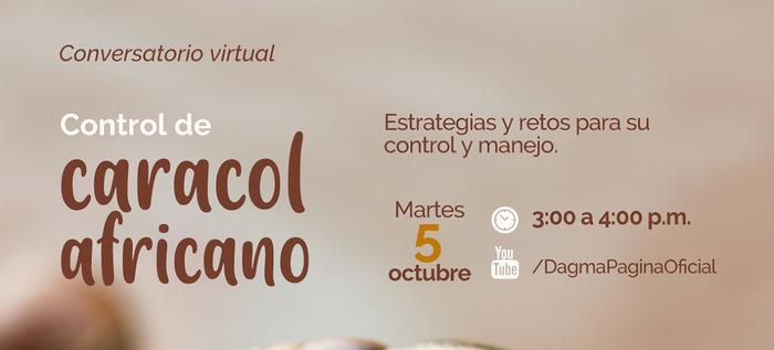 Conversatorio Virtual Control De Caracol Africano.