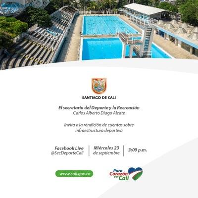 Rendición de cuentas - Infraestructura deportiva