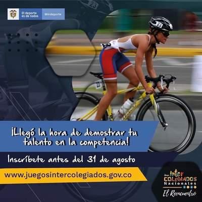 Inscripciones Juegos Intercolegiados Nacionales 2021
