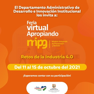 Feria Virtual Apropiando MIPG 2021