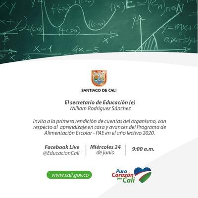 Primera Rendición de Cuentas de la Secretaría de Educación Municipal