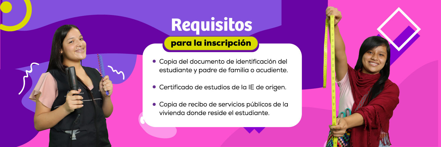 requisitos matricula - 2020
