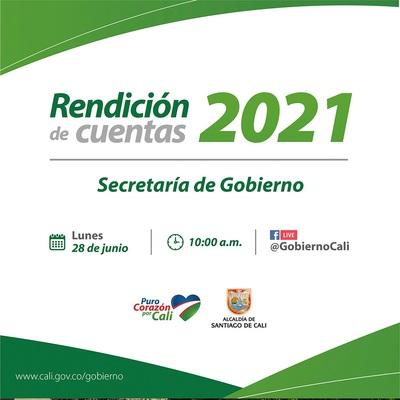 Rendición de cuentas 2021