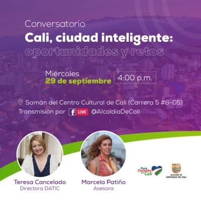Conversatorio: Cali ciudad inteligente, oportunidades y retos.