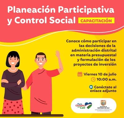 Capacitación Planeación Participativa y Control Social