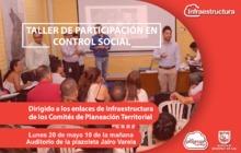 Taller de participación en control social