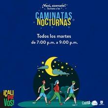 Caminata Nocturna Ruta La Flora
