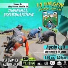 La Virgen Downhill Race 2019  Parada del campeonato mundial de Downhill Skateboarding