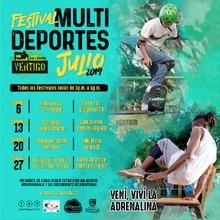 Festival Multi Deportes - Julio 2019