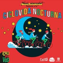 Disfruta gratis de la Ciclovida Nocturna