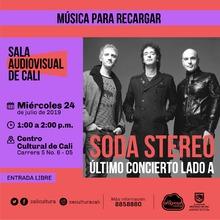 Música para recargar Soda Stereo - Centro Cultural de Cali - Salón 218