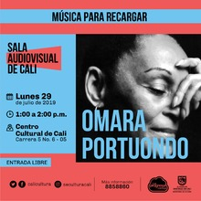 Música para recargar Omara Portuondo - Centro Cultural de Cali - Salón 218