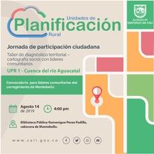 Taller de diagnóstico territorial - Montebello (UPR 1)