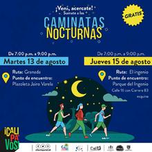 Caminata nocturna ruta El Ingenio