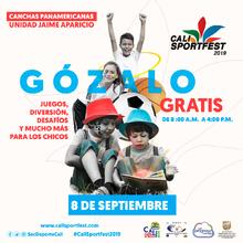 Juegos, diversión, desafíos y mucho más para los chicos - Cali SportFest2019