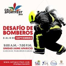 Desafío de Bomberos - Cali SportFest2019