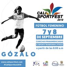 Fútbol Femenino - Cali SportFest2019