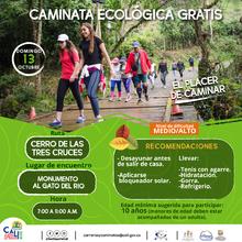 Caminata ecológica ruta Cerro de las Tres Cruces