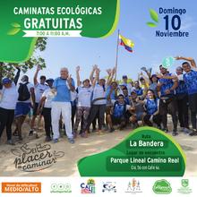 Caminata ecológica ruta La Bandera