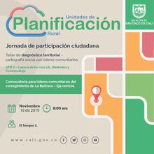 Taller de diagnóstico territorial - La Buitrera - Eje central (UPR 3)
