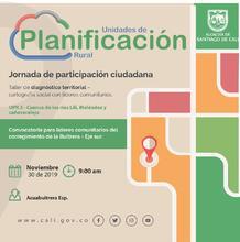 Taller de diagnóstico territorial - La Buitrera - Eje sur (UPR 3)