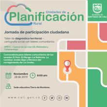 Taller de diagnóstico territorial - Los Andes (UPR 3)