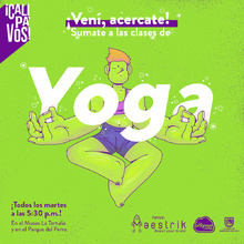 Clases de Yoga - Tertulia