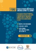 """Foro """"Hacia Estados Abiertos en América Latina y el Caribe"""""""