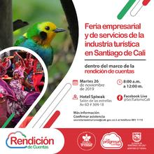 Feria empresarial y de servicios de la industria turística de Santiago de Cali