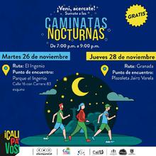 Caminata nocturna ruta Granada