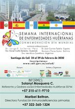 Semana Internacional de Enfermedades Huérfanas.