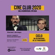 Cine club 2020 Sala Audiovisual en casa viernes 1 mayo