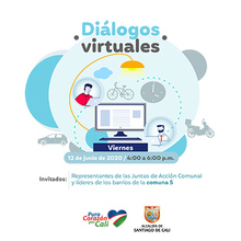 Diálogo  Virtual  Comuna 5