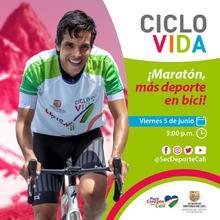 ¡Maratón Más deporte en bici!