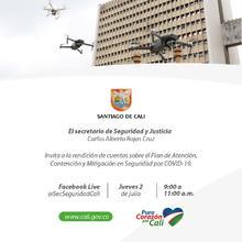 Invitación a la Rendición de Cuentas sobre el Plan de Atención, Contención y Mitigación en Seguridad por COVID-19 Julio 2020