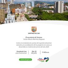 Primera rendición de cuentas Secretaria de Turismo 2020
