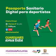 Pasaporte sanitario digital para deportistas