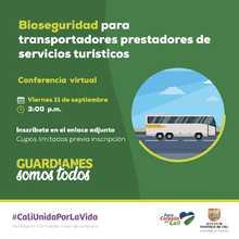 Bioseguridad para transportadores prestadores de servicios turísticos