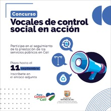 Vocales de control social en acción
