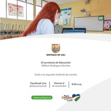Segunda Rendición de Cuentas de la Secretaría de Educación