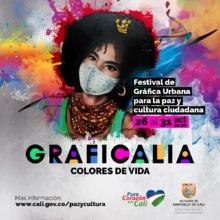 Convocatoria Festival Graficalia, Colores de Vida 2020